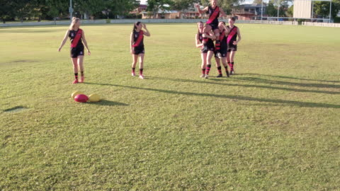 women's australian football club - competition stock videos & royalty-free footage
