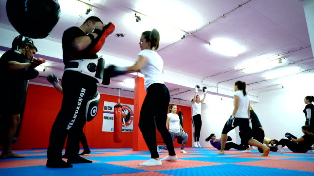 women's boxing training - martial arts stock videos and b-roll footage