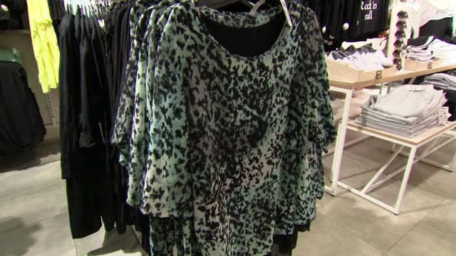 women's clothes section - blouse stock videos & royalty-free footage