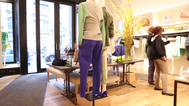 Women's Clothing Designer Clothing J Crew Store Spring Collection on February 11 2012 in New York New York