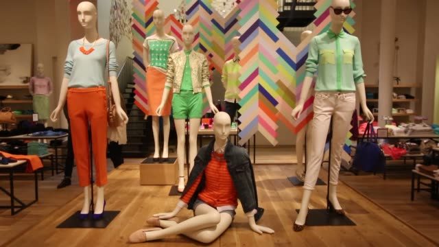 Women's Clothing Designer Clothing J Crew Store Spring Collection on February 11 2013 in New York New York