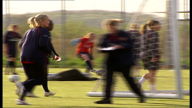 Women's Cup Final Arsenal Ladies first British team to make it to final Arsenal Ladies football team training