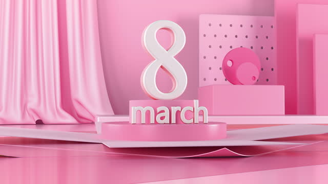 women's day - 4k resolution - number 8 stock videos & royalty-free footage