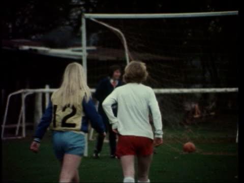 women's england soccer team; england: buckinghamshire: ext gvs england women's football team along and posing for photos gvs team in training eric... - women stock videos & royalty-free footage