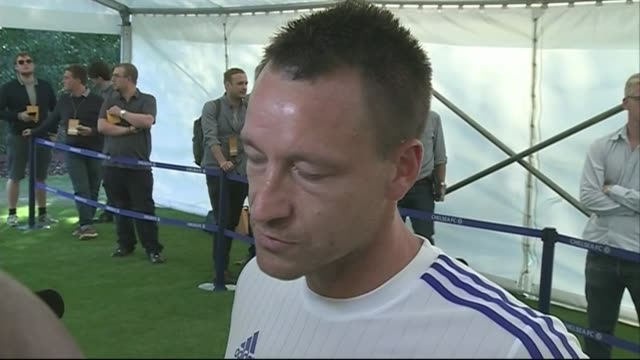 women's fa cup final to be played at wembley stadium for first time preview cobham int john terry interview sot - リチャード・パロット点の映像素材/bロール