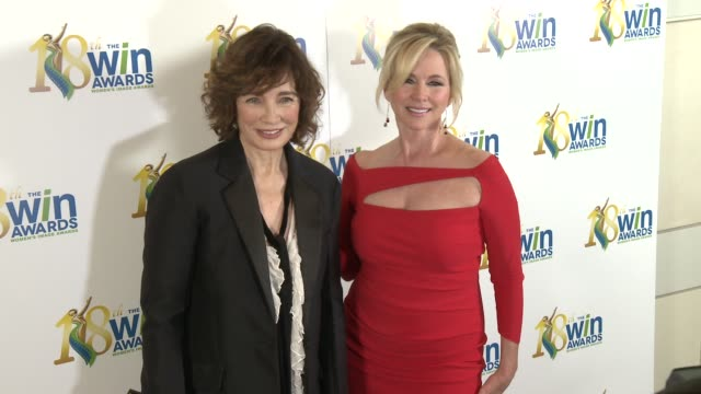 women's image network presents the 18th annual women's image awards in los angeles, ca 2/17/17 - anne archer video stock e b–roll