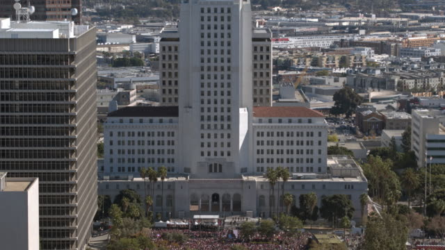 Women's March 2018 Los Angeles City Hall