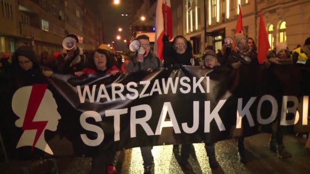 Women's rights groups and pro choice activists held rallies across Poland on Wednesday to protest moves to further restrict access to abortion in the...