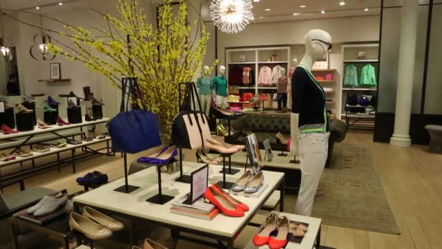 Women's Shoes Designer Shoes J Crew Store Spring Collection on February 11 2013 in New York New York
