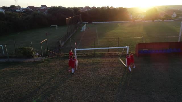 vídeos y material grabado en eventos de stock de selección femenina de fútbol - fémina