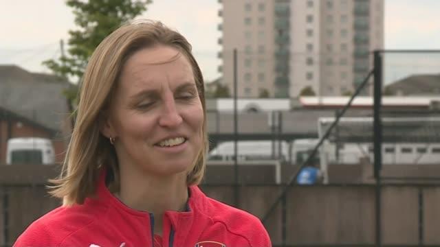Women's World Cup 2015 England reach quarter finals Faye White interview SOT