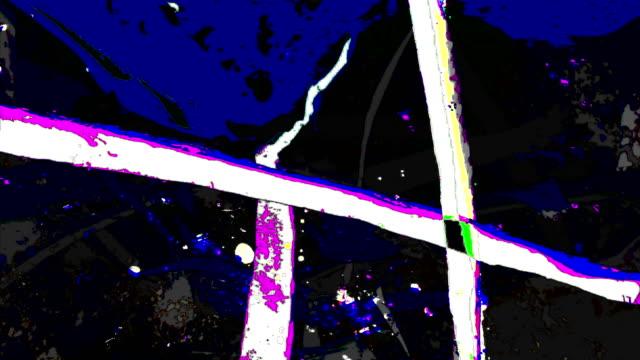 the other move : wonderland flowerdjungle - stringent (loop) - graffiti stock videos and b-roll footage
