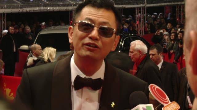 Wong Karwai at 'The Grandmaster' Premiere 63rd Berlinale International Film Festival Wong Karwai at 'The Grandmaster' Premiere 63rd at Berlinale...