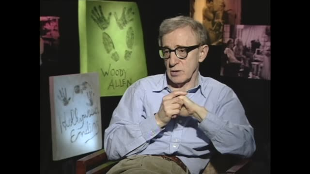 wood allen on how show business has affected his personal life - woody allen stock videos & royalty-free footage