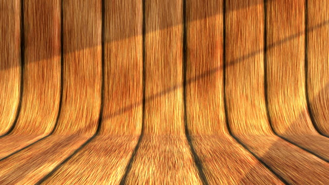 Wood background with sunlight