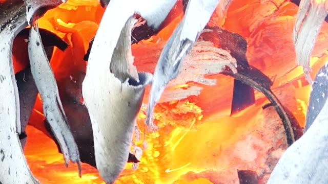 Holz burning