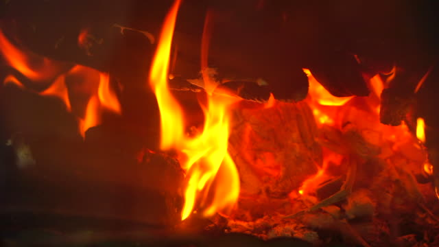 wood fire - log stock videos & royalty-free footage