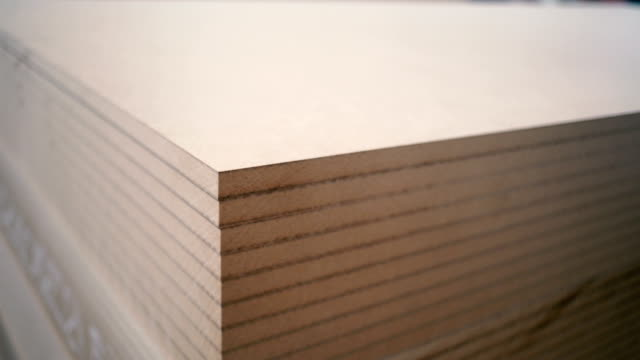 wood mdf - plank stock videos & royalty-free footage
