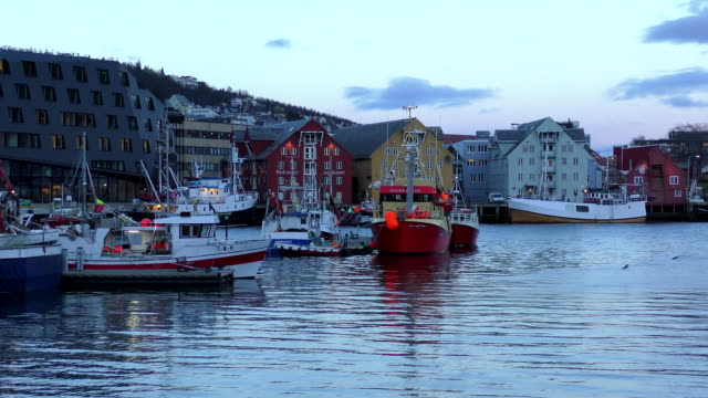 Wooden Houses - Tromso, Norway.
