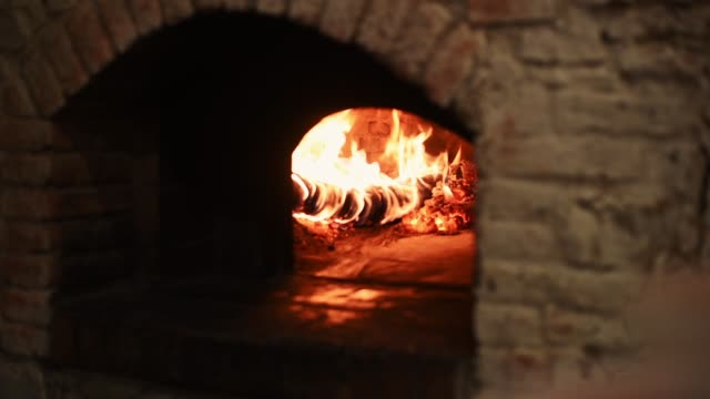 wooden oven - italian culture stock videos & royalty-free footage