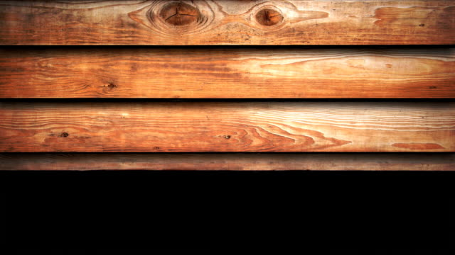 wooden panels - animated background (hd 1080) - five objects stock videos & royalty-free footage