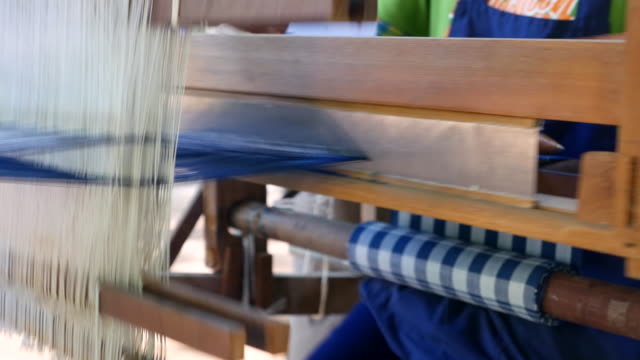 Wooden Weaving Thread Machines
