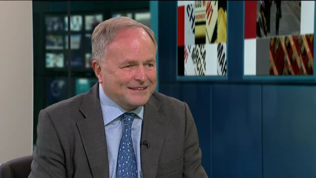 woodland commemoration for footballers who fought in first world war; clive anderson live studio interview sot - clive anderson stock videos & royalty-free footage