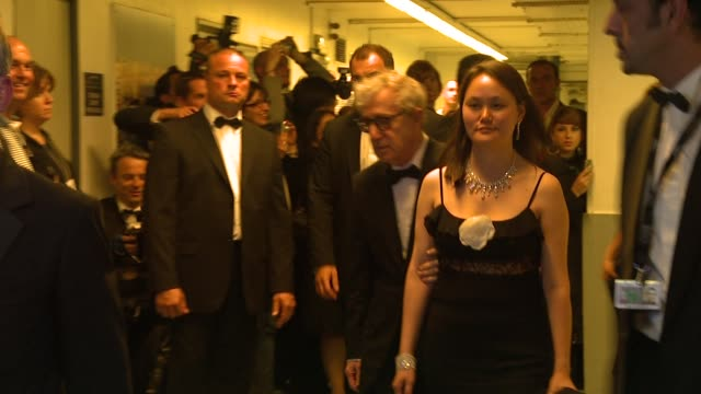 woody allen and soonyi previn at the cannes partouche charity poker tournament in cannes on may 18 2008 - soon yi previn stock videos & royalty-free footage