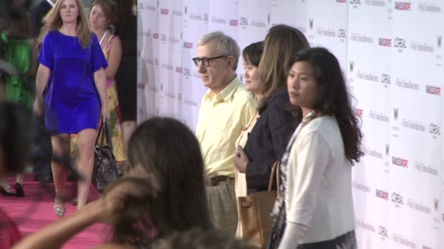 woody allen and wife soonyi previn at the 'vicky cristina barcelona' premiere at los angeles ca - soon yi previn stock videos & royalty-free footage