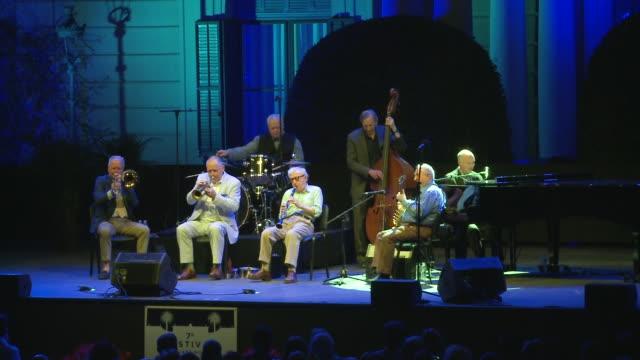 """vídeos y material grabado en eventos de stock de woody allen concert for the festival """"jardins de pedralbes"""" in barcelona - woody allen"""