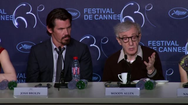 woody allen on picking the right actor for the script but wanting to work with reese witherspoon and cate blanchett at the you will meet a tall dark... - woody allen stock videos & royalty-free footage