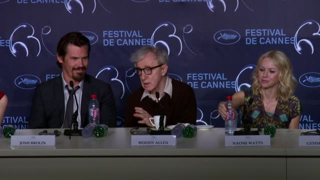 woody allen on what its like to get older and advising the audience to avoid getting old and that there is no romantic aspect to it at the you will... - woody allen stock videos & royalty-free footage