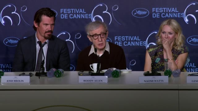 woody allen talks about playing the romantic lead and why he would not play it again in the future and being the frustrated old director on set at... - woody allen stock videos & royalty-free footage