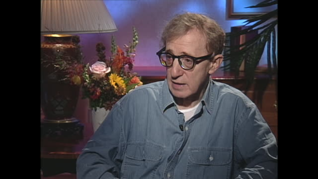 woody allen's fear of mortality - haltbarkeit stock-videos und b-roll-filmmaterial
