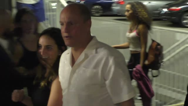 woody harrelson arriving to the lbj premiere at arclight theatre in hollywood in celebrity sightings in los angeles, - woody harrelson stock videos & royalty-free footage