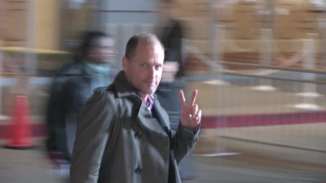 woody harrelson at 25th film independent spirit awards. at the celebrity sightings in los angeles at los angeles ca. - woody harrelson stock videos & royalty-free footage