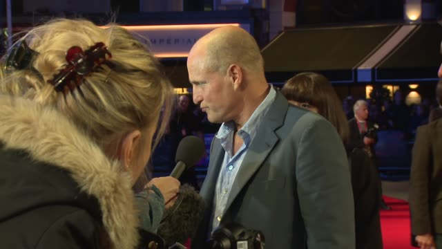 woody harrelson at odeon leicester square on october 15, 2017 in london, england. - woody harrelson stock videos & royalty-free footage