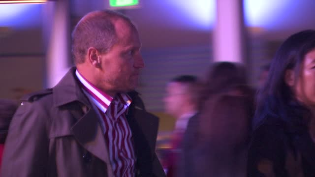 woody harrelson at the 25th independent spirit awards hosted by jameson irish whiskey at los angeles ca. - woody harrelson stock-videos und b-roll-filmmaterial