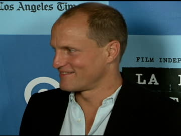 woody harrelson at the 'a scanner darkly' premiere at ford theater in hollywood, california on june 29, 2006. - woody harrelson stock videos & royalty-free footage