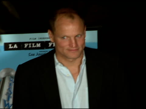 woody harrelson at the 'a scanner darkly' premiere at ford theater in hollywood california on june 29 2006 - woody harrelson stock videos & royalty-free footage