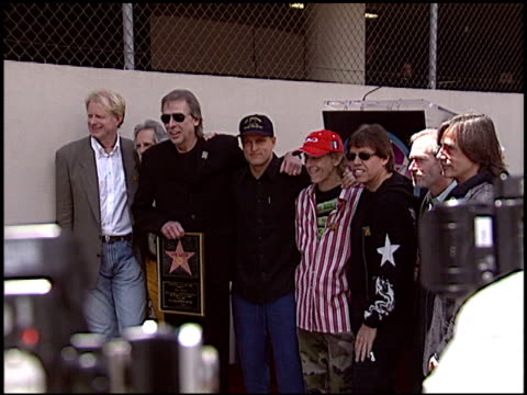 woody harrelson at the dediction of jim ladds walk of fame star at the hollywood walk of fame in hollywood, california on may 6, 2005. - woody harrelson stock videos & royalty-free footage