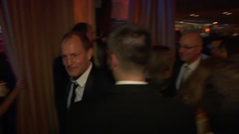 woody harrelson at the inside the vanity fair oscar party 2010 at west hollywood ca. - woody harrelson stock videos & royalty-free footage