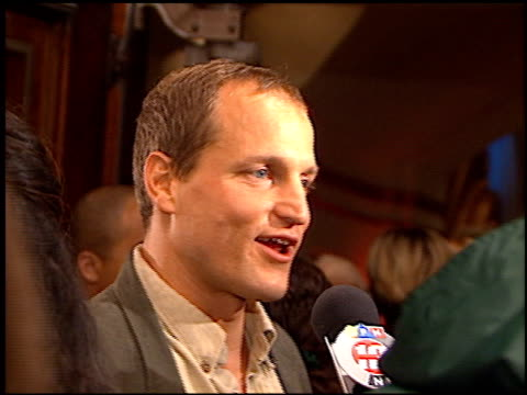 woody harrelson at the premiere of 'the people vs larry flynt' on december 2, 1996. - woody harrelson stock videos & royalty-free footage
