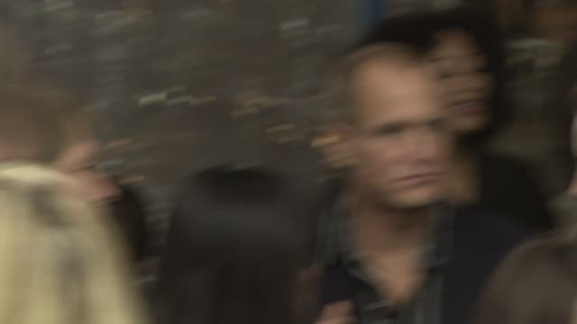 woody harrelson at the 'seven pounds' premiere at los angeles ca - woody harrelson stock-videos und b-roll-filmmaterial