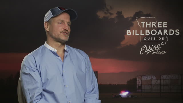 woody harrelson on breaking the scubber diving laws, going to 300ft at 'three billboards outside ebbing, missouri' interviews - 74th venice... - woody harrelson stock videos & royalty-free footage