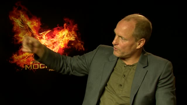 interview woody harrelson on his career talking a different path his fans becoming younger at 'the hunger games mockingjay part 2' interviews at the... - woody harrelson stock videos & royalty-free footage