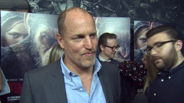 woody harrelson on joining the series his character and who to root for at ham yard hotel on june 19 2017 in london england - woody harrelson stock videos & royalty-free footage