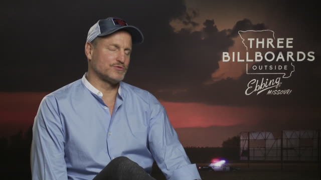 INTERVIEW Woody Harrelson on Martin McDonagh directing style Martin McDonagh staying up with world trends bring the trends to the film at 'Three...