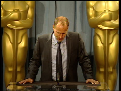 woody harrelson reactions to nominations and his role in the movie at the 82nd academy awards nominees luncheon at beverly hills ca - woody harrelson stock-videos und b-roll-filmmaterial