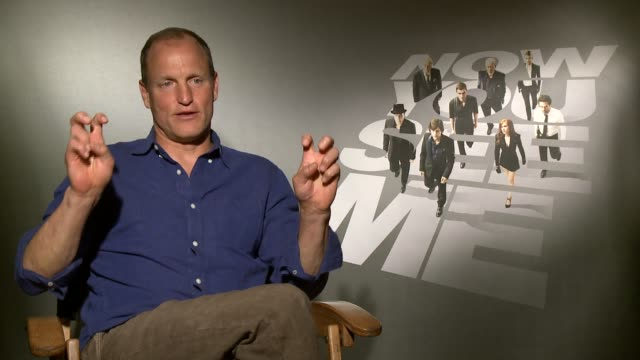 woody harrelson woody harrelson on wanting to work with jesse eisenberg again, he brought him script. on originality of script, on robin hood element... - woody harrelson stock videos & royalty-free footage